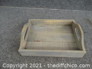 Wood Tray