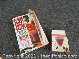 Power Juices Super Drinks Book & Cards