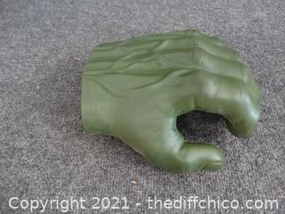 Green Toy Hand