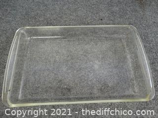 Pyrex Glass Pan 9 x 13
