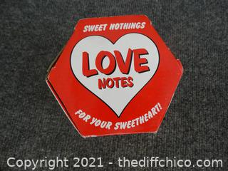 Loves Notes
