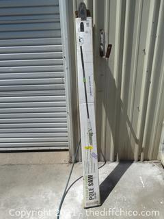 1.5 Peak HP Electric Pole Saw 120 volt