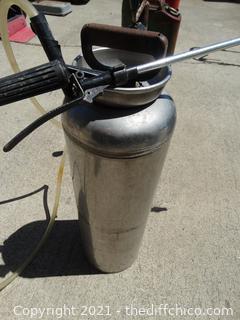 Stainless Steel Sprayer
