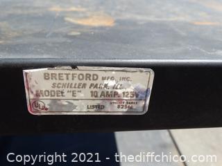 Bretford  10 Amp 125volt Cart With Power