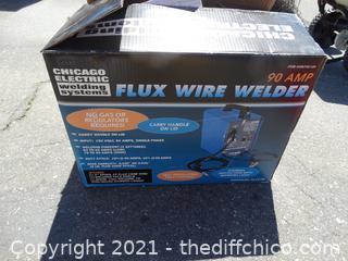 Flux Wire Welder 90 Amp