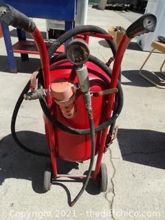 Portable Sand Blaster