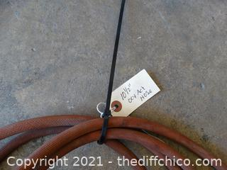 10 1/2' Oxy Act Hose With Tip