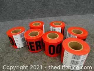 Red Danger Tape