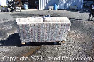 68in wide Pillow Love Seat