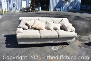88in wide Pillow Couch