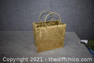 Brass Bag / Basket