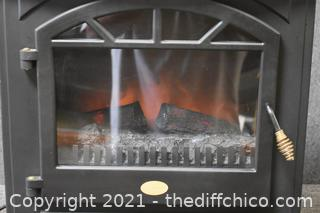 Working Charmglow Fire Place