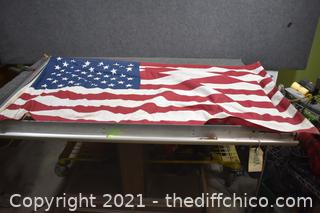 Flag plus Pole