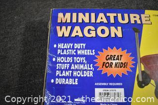 NIB Miniature Wagon