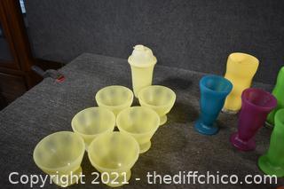 Plastic Summer Fun Snacks
