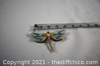 Dragon Fly Trinket Box