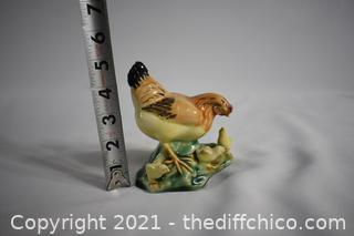Porcelain Hen