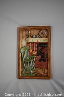 Wall Hanging - 5 3/4in x 15 1/2in