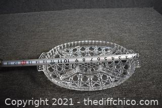 Glass Divided Dish