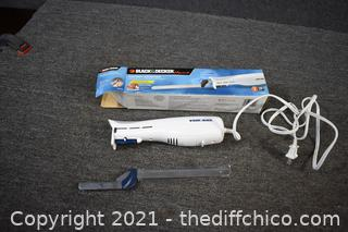 Working Black and Decker Electric Knife