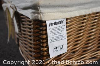 9 New Pier 1 Basket Organizers