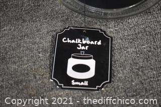 Chalkboard Jar
