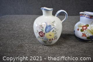 3 Pieces of Pottery