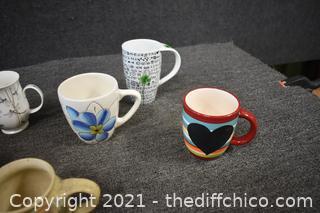 15 Coffee Mugs