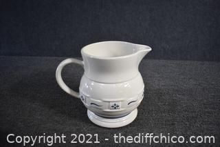 Longaberger Pottery Pitcher