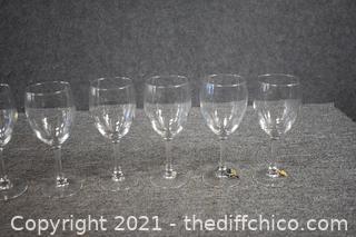 7 Wine Glasses