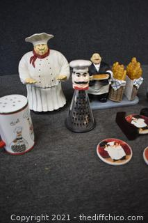 10 Pieces of Chef Decorations
