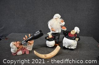 5 Decorative chef Pieces and More