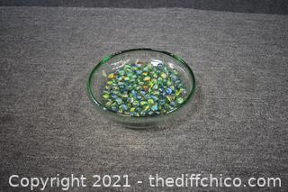 Bowl plus Marbles