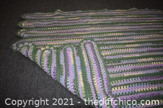 Hand Made Throw - 52in x 39in