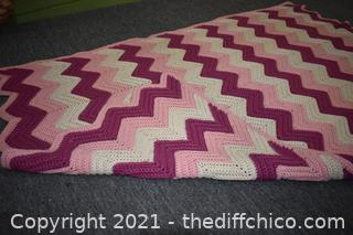 Hand Made Throw - 57in x 38in