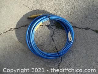 24 1/2 ' Blue Air Hose
