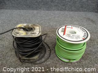 2 Spools Of Wire