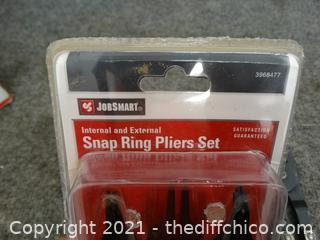 Snap Ring Pliers Set