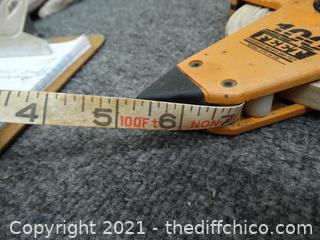 Keson 100 FT Measuring Tape