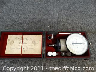 Dial Indicator Gauge Made In Switzerland