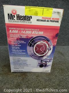 Mr Heater 8,000-14,000 BTU/HR