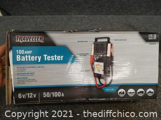 Traveller 10 Amp Battery Tester  6 Volts 50/100A
