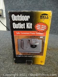 Outdoor Outlet Kit NIB