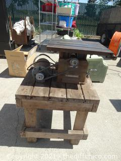 Home Craft Table Saw With Stand