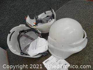 3 Bullard Hard Hats