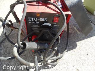 ETQ 80B  AC Welder