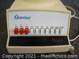 Osterizer Blender Glass Pitcher wks