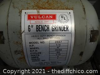 "Vulcan 6"" Bench Grinder"