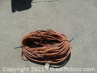 110' Orange Extension Cord