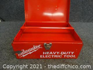 Milwaukee Heavy Duty Electric Screw Shooter works